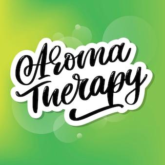 Carta de aromaterapia