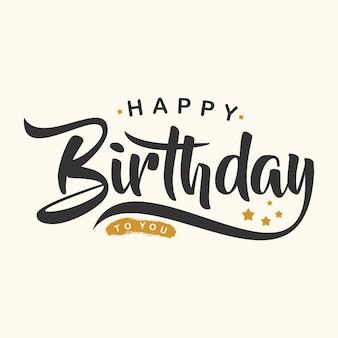 Carta de feliz cumpleaños creativa