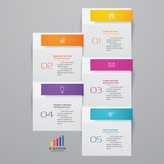 Carta de presentación infográfica