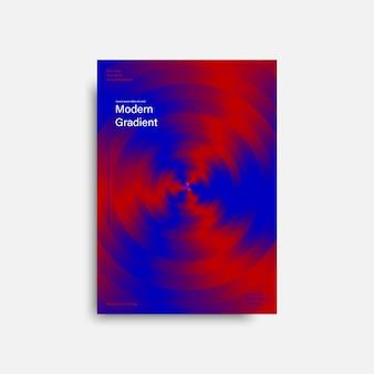 Cartel abstracto para flyer. cartel de fondo, banner, plantillas de tarjetas. fondo digital abstracto. forma de degradado geométrico. valores .