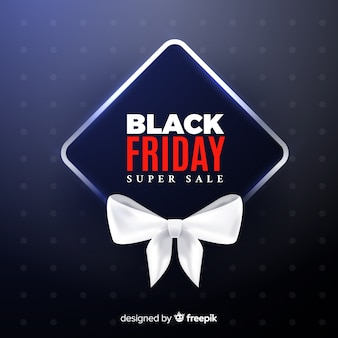 Cartel de black friday