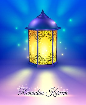 Cartel de color ramadan