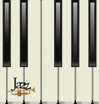 Cartel de concierto de jazz