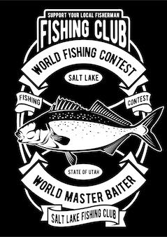 Cartel del concurso de pesca
