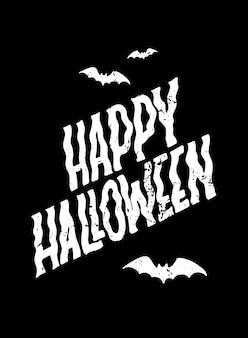 Cartel creativo de halloween, diseño de banner