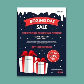 Cartel del día del boxeo a4