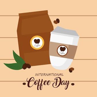 Cartel del día internacional del café