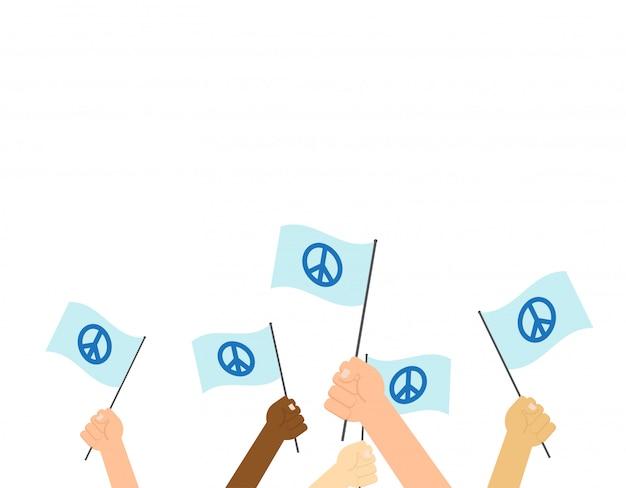 Cartel día internacional de la paz