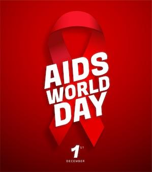 Cartel del día mundial del sida