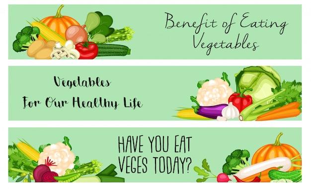 Cartel del día mundial vegano con fondo de verduras diseño plano