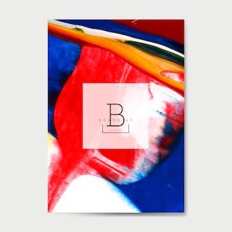 Cartel para evento de arte.