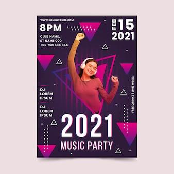 Cartel del evento musical 2021