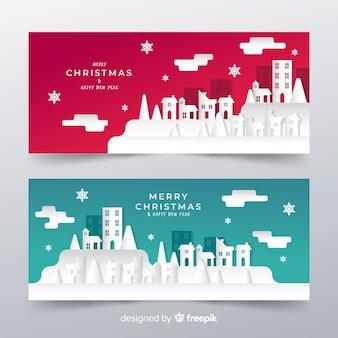 Cartel de felicitación navideña