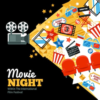 Cartel del festival de cine