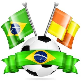 Cartel de futbol