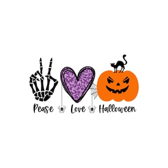Cartel de halloween feliz, tarjeta de felicitación, invitación a una fiesta. ilustración vectorial.