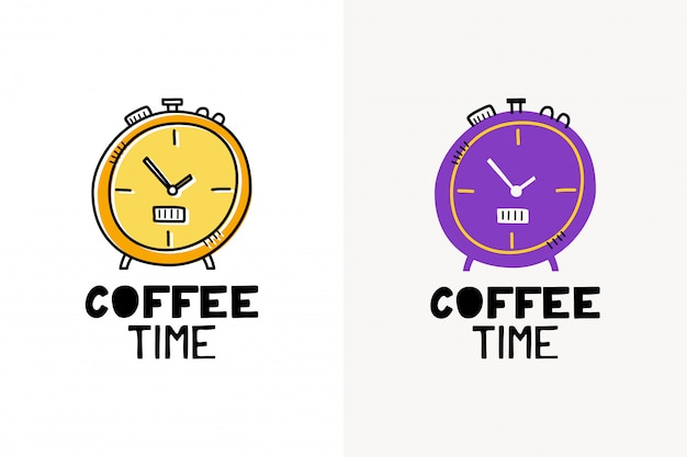 Cartel de la hora del café