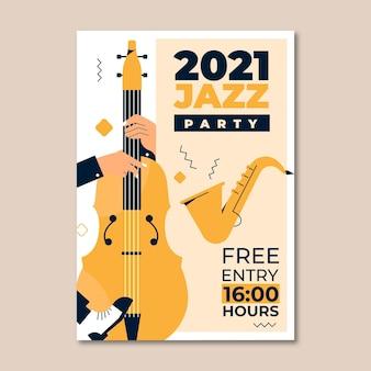 Cartel ilustrado del festival de música