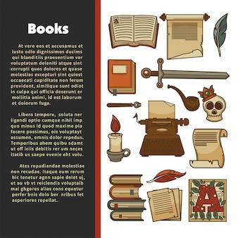 Cartel de literatura