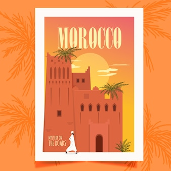Cartel de marruecos
