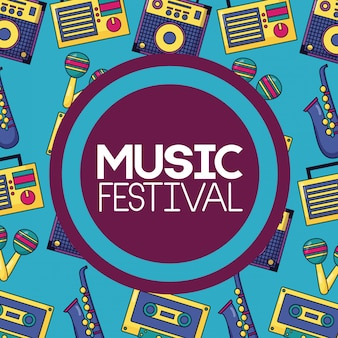 Cartel musical del festival