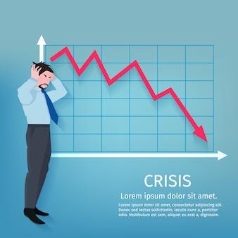 Cartel de negocios de fracaso