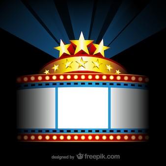 Cartel para película de cine