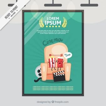 Cartel de película premiada