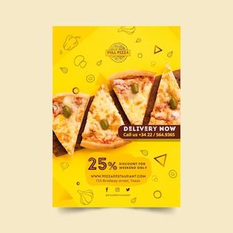 Cartel para pizzería