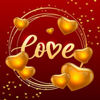 Cartel de san valentín, tarjeta, etiqueta, lema de carta de banner elementos de vector para elementos de diseño de san valentín. tipografía corazón de amor