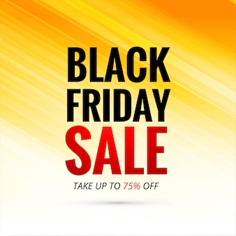 Cartel de venta de fondo de viernes negro