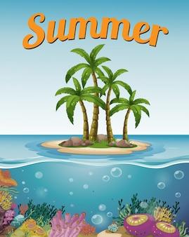 Cartel de verano