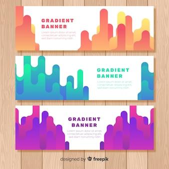 Carteles gradientes