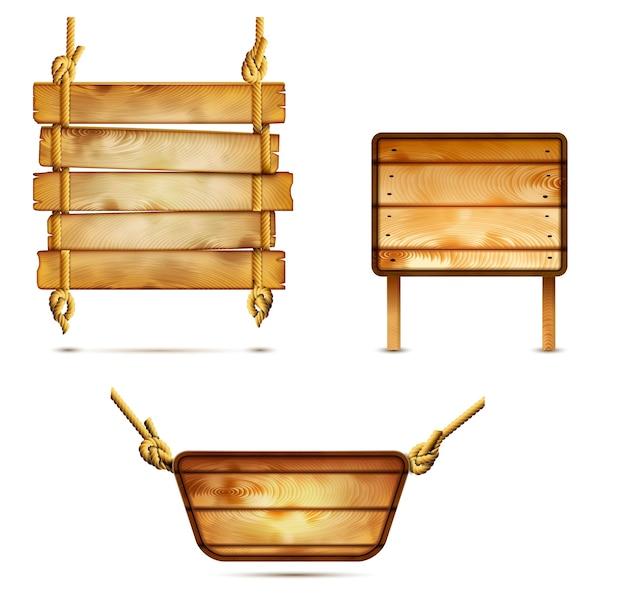 Carteles de madera