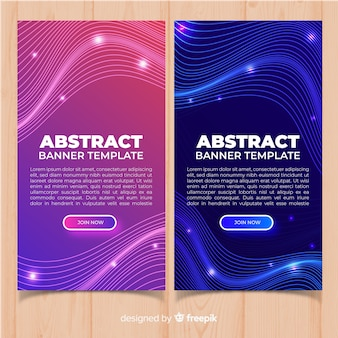 Carteles online abstractos