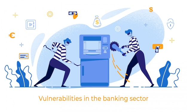 Cartoon thieves daña vulnerabilidades en cajeros automáticos en el banco