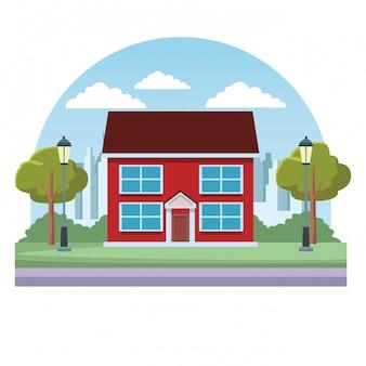 Casa inmobiliaria