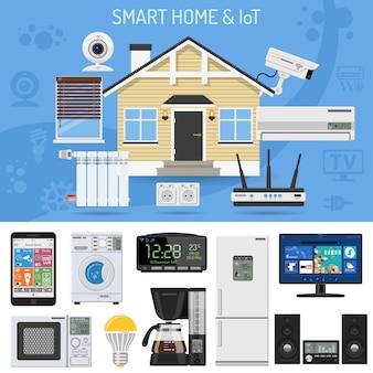 Casa inteligente e internet de las cosas