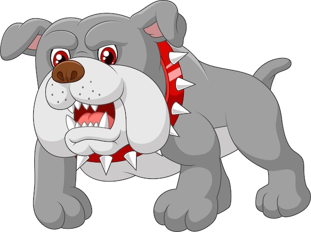 Casa de perro de guardia de dibujos animados