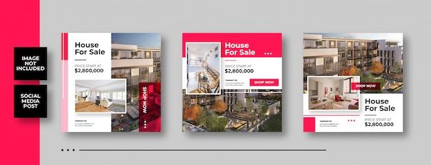 Casa en venta banner de redes sociales