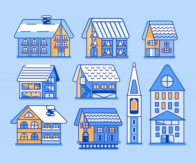 Casas de vacaciones de invierno