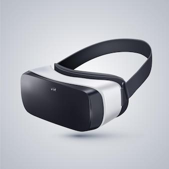 Casco de realidad virtual realista