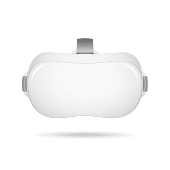 Casco de realidad virtual vr. gafas con auriculares de realidad virtual realista