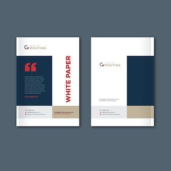Catálogo, folleto, plantilla de folleto