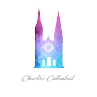 Catedral de chartres, poligonal