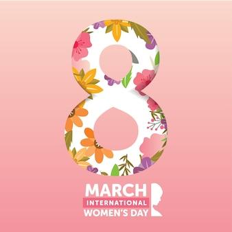 Celebra el día de la mujer feliz