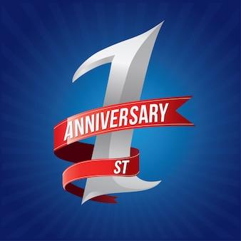 Celebración de aniversario de 1 año