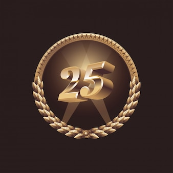Celebración de aniversario de 25 años.