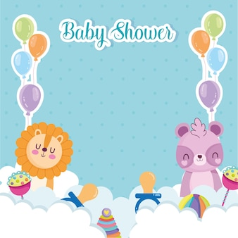 Celebración de baby shower
