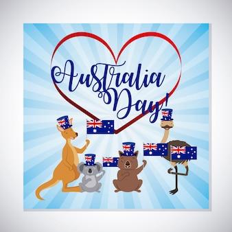 Celebración del día de los animales en australia
